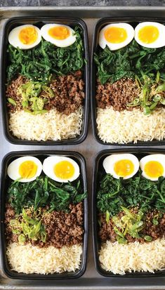 Beef Bowl Meal Prep Korean Beef Bowl Meal Prep - Tastes like Korean BBQ in meal prep form and you can have it ALL WEEK LONG! Simply prep for the week and youKorean Beef Bowl Meal Prep - Tastes like Korean BBQ in meal prep form and you can have it ALL WEEK Healthy Snacks, Healthy Eating, Healthy Recipes, Keto Recipes, Clean Eating, Dinner Healthy, Heathy Lunch Ideas, Lunch Ideas Work, Damn Delicious Recipes