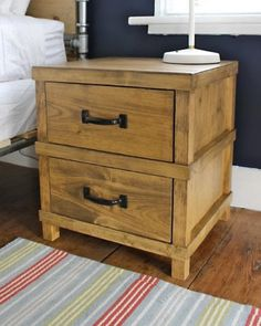 Owen's nightstand from Ana White