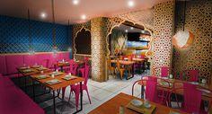 Indian Restaurant Concept Design (London, Haringey) on Behance