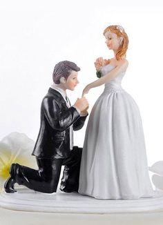 Cinderella Moment Figurine Resin Wedding Cake Topper - Wedding Reception - Wedding