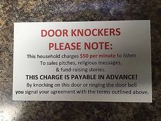 New-No-Soliciting-Sign-Front-Door-Home-Door-Knockers-Door-Knockers-Note