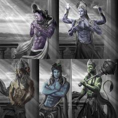 THE GODS Shiva Tandav, Shiva Art, Krishna Art, Hindu Art, Shree Krishna Wallpapers, Lord Krishna Wallpapers, Hanuman Images, Lord Krishna Images, Hindu Rituals
