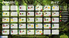 ZielonyKLIK: Kalendarz biodynamiczny - MARZEC 2017