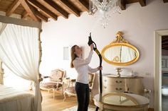 Clean the hard-to-reach areas, high rise lighting and ceilings with ease using steam vac hose extension.  Book now to see on-site demonstration of cleaning with steam vacuum machine.  www.duplexcleaning.com.au