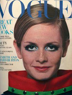 Iconic Twiggy  October 1967