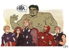 """""""Whatever made Bruce Hulk-out, I'm certain Tony had something to do with it"""" - 99% of the time it's Tony's fault"""