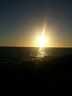 Sunset in Fremantle on a hot summers night...beautiful ♥