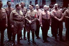 Weber Goering, Hitler és két német professzor egy 1938-as megemlékezésen