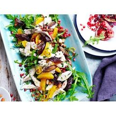 There's are no boring diet ingredients here - salad can be filling enough to enjoy as a meal of its own right. These healthy recipes will satisfy you.