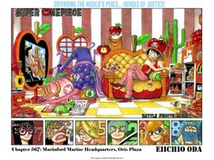 One Piece Manga ch.567 Page 1
