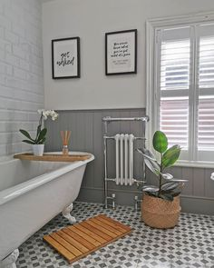 Homeware's best kept secret: Shop all things 'Free Your Bath From Boring' (and more) on Fy! Upstairs Bathrooms, Small Bathroom, Tiny Bathrooms, Family Bathroom, Cottage Showers, Bathroom Radiators, Bathroom Goals, Bathroom Ideas, Downstairs Toilet