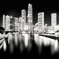 Singapore - Blacks and Whites by *angelreich on deviantART