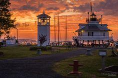 Hooper Strait Lighthouse by Ernesto Del Aguila III, via 500px