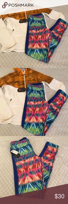Ladies workout pants Very cute workout pants multi- colors. This pants are perfect for this running, dancers or yoga. There are very cute. Hot Kiss Pants Track Pants & Joggers