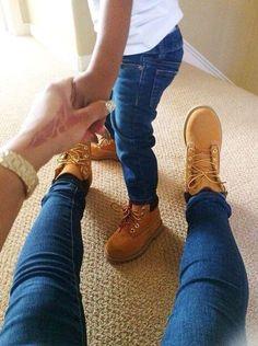 botas mamá e hija