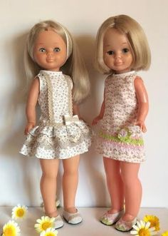 American Girl Clothes, Girl Doll Clothes, Nancy Doll, Madame Alexander Dolls, Girl Outfits, Flower Girl Dresses, Summer Dresses, Doll Crafts, Crochet