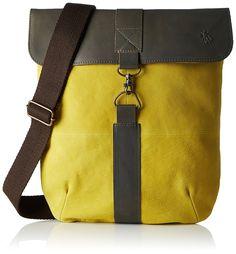 a652056c7dd94 Fly London Women's BONT573FLY Shoulder Bag, Grey (Concrete/Khaki), 4x30x27  cm (B x H x T): Amazon.co.uk: Shoes & Bags