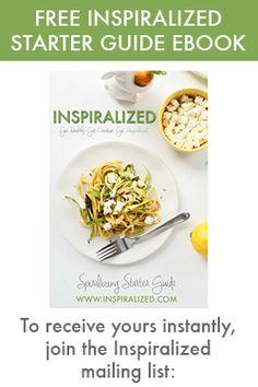 Spiralized Kohlrabi, Ruby Radish and Shaved Asparagus Salad with Lemon-Chive Dressing | Inspiralized