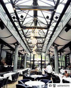 Dans l'ancienne gare de Passy-la-Muette... #lagare #restaurant #design #trainstation #gare #old #architecture #amazing #beautiful #lights #lauragonzalez #food #goodfood #homemade #perfect #delicious #tasty #bonneadresse #picoftheday