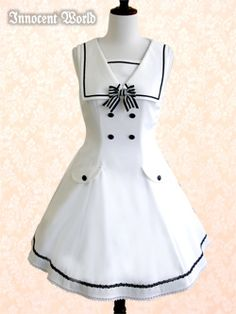 I love the sailor look- it is always so   clean.