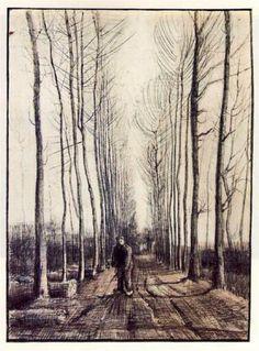 Poplar Trees - Vincent van Gogh
