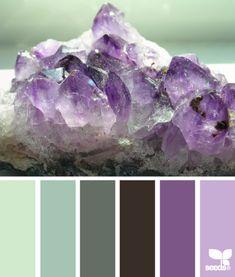 минеральные оттенки