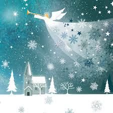 Hark The Herald Angels Sing Charity Christmas Cards Christmas Scenes, Christmas Pictures, Christmas Angels, Christmas Art, Christmas Design, Christmas Greetings, Beautiful Christmas, Engel Illustration, Angel Pictures