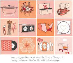 advertising & branding | Julia Rothman Illustration