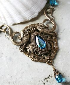 TIDE POOL romantic Victorian nautical by TheVictorianGarden. $58.00,