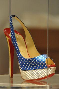 Christian Louboutin - Wonder Woman shoes