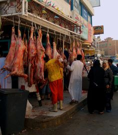 Macelarie in Egipt - Butchery in Egypt