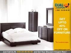 Get A Comprehensive And Magnificent Range Of Furniture That Meet Suitably To Your Needs In Different Venues. Call Dial A Coupon Now And Get Upto 40% Off On Furniture.