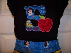 Snow White Birthday Shirt Personalized Snow White by playpatch