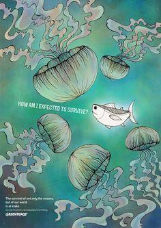 Overfishing by Feliana Sutanto, via Behance