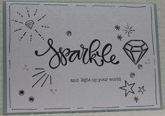 Gemaakt door Joke # Stempels Karin Joan - Sparkle