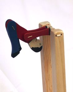 Toy Acrobat Handcrafted Wooden Toy Acrobat by McCoyToys on Etsy Rustic Toys, Wood Crafts, Diy Crafts, Travel Toys, Imaginative Play, Wood Toys, Engagement Gifts, Gift Guide, Hand Painted
