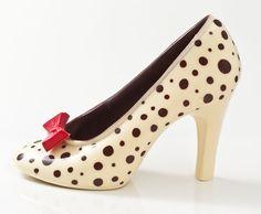 Custom Hand Made Artisan Chocolate Shoes