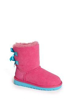 UGG® Australia 'Bailey Bow' Boot (Walker, Toddler, Little Kid & Big Kid) available at #Nordstrom sooooooooo cute