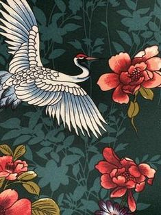 Buy Crepe De Chine - Cheapest Online Fabric Store Australia – Super Cheap Fabrics Rainbow Flowers, Silk Fabric, Printing On Fabric, Flora, Birds, Australia, Bottle, Prints, Painting