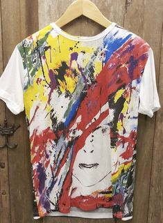 This item is unavailable Vintage Band T Shirts, Sherman Oaks, Fleetwood Mac, David Bowie, Vintage Looks, Tie Dye, Etsy Shop, Trending Outfits, Check