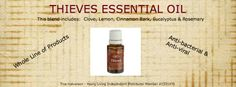 Thieves Essential Oil  click image for more information  #thieves #youngliving #essentialoils