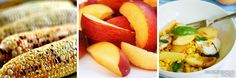 CeciStyle V104: Recipes for Style - Corn/Peach Salad