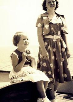 Miss Honoria Glossop:  Princesses Beatrix and Christina of the Netherlands