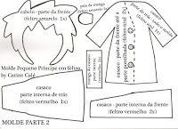 Molde Pequeno Príncipe parte 02 #artesanato #decor #molde #decoração #façavocemesmo  #pap #diy #feltro #costura #boneco #infantil #príncipe #opequenopríncipe