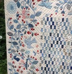 Minick and Simpson Blue Quilts, Scrappy Quilts, White Quilts, Antique Quilts, Vintage Quilts, Monochromatic Quilt, Farm Quilt, Applique Quilt Patterns, Quilt Border