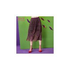 Paneled Midi Skirt (1.795 RUB) ❤ liked on Polyvore featuring skirts, women, midi skirt, green midi skirt, calf length skirts, mid-calf skirts and green skirt