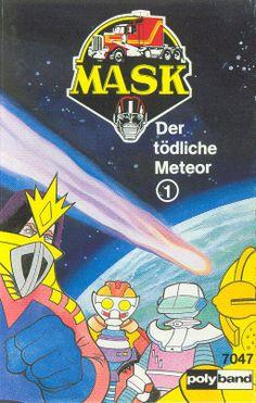 German audiobook cover Der Tödliche Meteor (The Deadly Meteor) 1980s Tv, Rarity, Audiobook, Booklet, Cover Art, German, Fan Art, Comics, Random