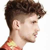 undercut hairstyle for wavy hair