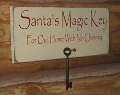 Santa's secret key