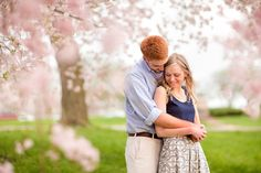 Love this by Katelyn James http://katelynjamesblog.com/washington-dc-cherry-blossom-engagement/
